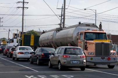 Traffic Ballarat Road Maribyrnong